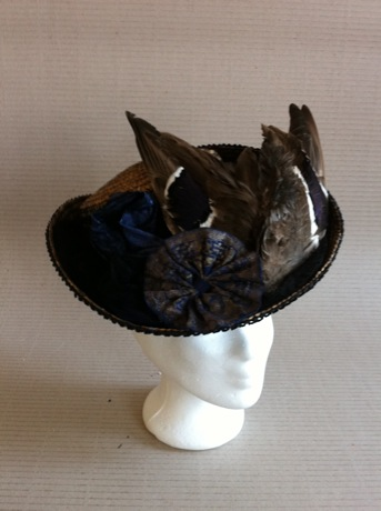 HIGH NOON - 1890s Ladies Hat
