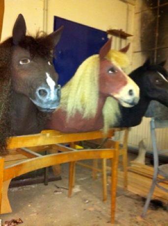 HIGH NOON JR. - Horse Dummies