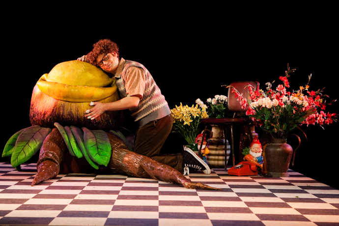 LITTLE SHOP - Audrey II has grown